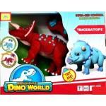 Интерактивная игрушка динозавр трицератопс на радиоуправлении