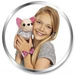 Chi-Chi love Чихуахуа плюшевая собачка Гламур с розовой сумочкой и бантом в Минске