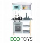 Детская деревянная  кухня ECO TOYS (7256А)