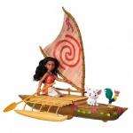 Кукла Hasbro Disney Princess B8308 Моана Игровой набор Моана в лодке