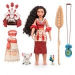Disney набор кукла Vaiana/ Moaнa поет + амулет светится