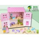 Купить Кукольный домик земляничный