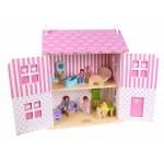 Кукольный домик земляничный