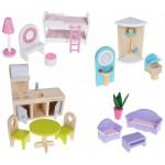Купить Кукольный домик ECO TOYS Nowa Malinowa (4119)