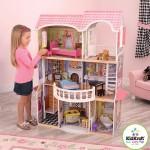 Кукольный домик для Барби с мебелью Магнолия, интерактивный, KidKraft
