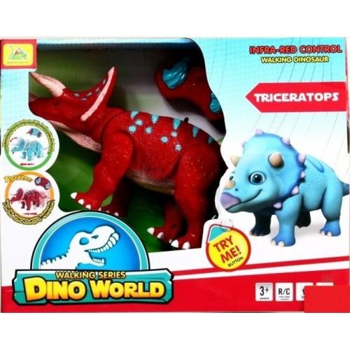 Интерактивная игрушка динозавр трицератопс на радиоуправлении в Минске