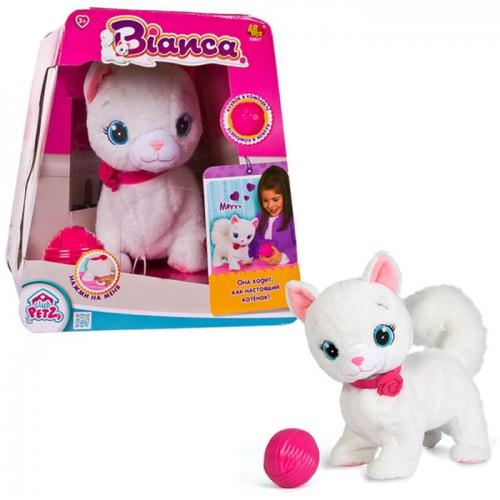 Кошка Bianca интерактивная, эл / мех, в комплекте с клубком, выполняет 5 действий  в Минске