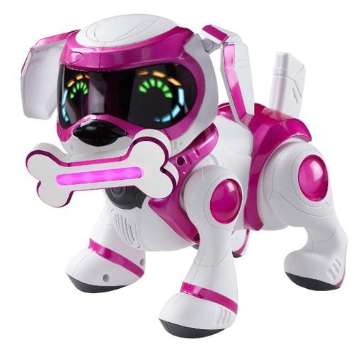Интерактивная собака-робот Teksta Puppy , розовая в Минске