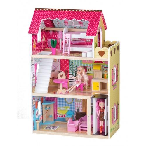 Кукольный домик ECO TOYS Malinowa 2 (4120) купить в Минске