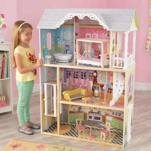 Кукольный домик для Барби с мебелью Кейли, KidKraft в Минске