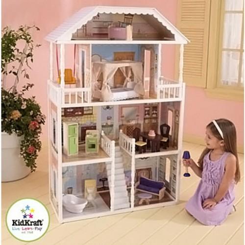 Кукольный домик для Барби с мебелью Саванна, KidKraft в Минске